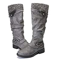 gracosy Knee High Boots Women