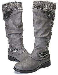 61a2c4aa44a282 Suchergebnis auf Amazon.de für  stiefel grau  Schuhe   Handtaschen
