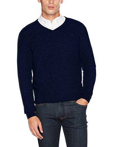 Jprluke Cashmere Knit V-Neck Noos, Suéter para Hombre, Negro (Schwarz), Small Premium by Jack & Jones