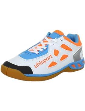 uhlsport LEON Junior 100830701 Unisex - Kinder Sportschuhe - Indoor