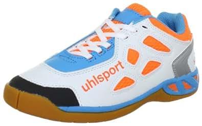 uhlsport Unisex Kids' LEON Junior Sports Shoes - Indoors Orange Size: 1