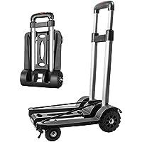 Sackkarre Faltbar, Transportkarre Klappbar/Alu-Sackkarre Mini/Leichtgewichtiger Gepäckwagen/Aluminium Transport und…