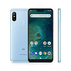 "Xiaomi Mi A2 Lite - Smartphone Dual SIM de 5.84"" (Octa-Core 2.0 GHz, RAM 4 GB, memory 64 GB, GBal chamber 12+5 MP, Android) color blue [Spanish version]"