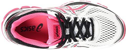 Asics Gt-1000 4, Chaussures de Running Compétition Femme Blanc (white/azalea/black 0121)