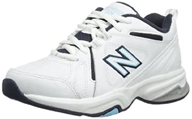 New Balance Womens Indoor Multisport Court Shoes WX624WB White 5.5 UK, 38 EU