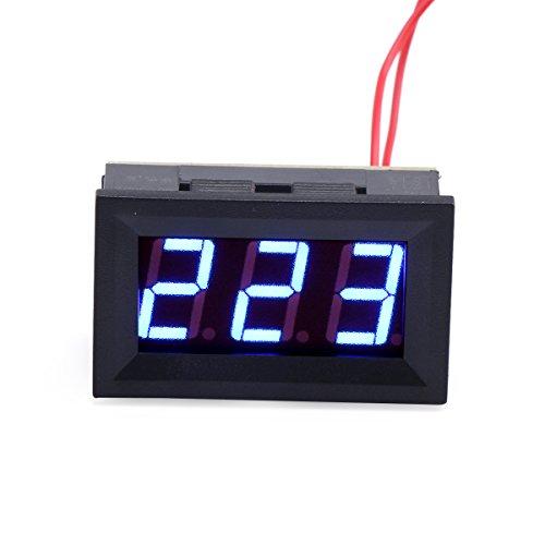 Drok® AC 60V-500V sensore pannello voltmetro LED blu display digitale voltmetro AC test convertitore di tensione