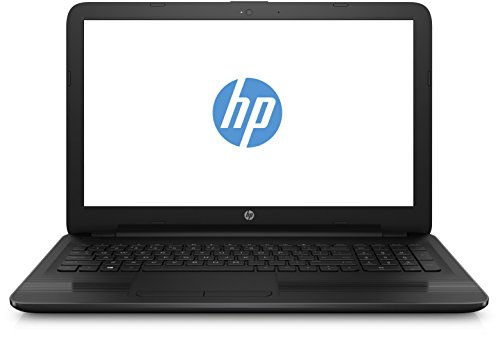 HP 15-ba010ng (W8Y81EA) 39,6 cm (15,6 Zoll Full HD) Laptop (AMD Quad-Core E2-7110, 4GB RAM, 500GB HDD, FreeDOS) schwarz