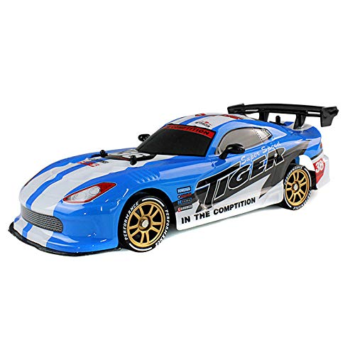 Ambility 1 Pcs RC Drift Car Cool LED Light USB Charging 2.4G High Speed Remote Control Racing