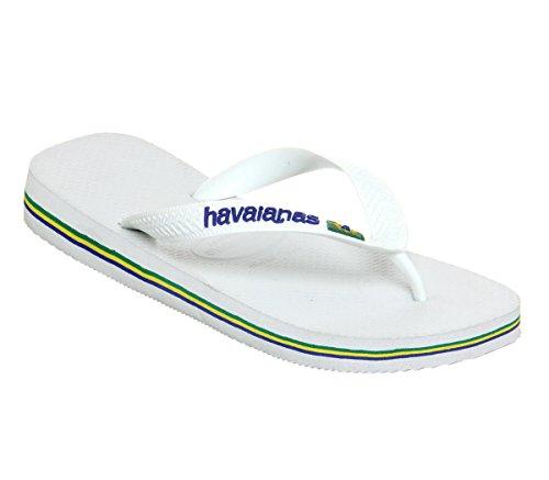 Havaianas , Sandales pour homme Blanc - blanc