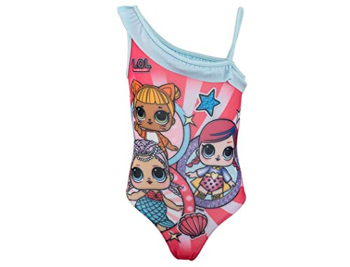 L.O.L. Surprise! | Costume da Bagno per Bambina Premium | Splendidamente Disegnato |...