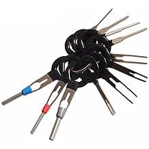 100x Pernos de cables Juego de rizar Enchufes redondos TOOGOO Conector redondo Rojo R
