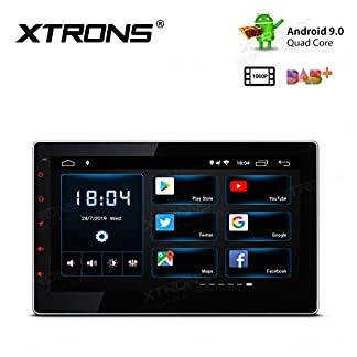 XTRONS-101-Android-Autoradio-mit-Touch-Screen-Double-Din-Mutimedia-Player-Autoradio-mit-Quad-Core-3G-4G-Bluetooth50-2Din-2GB-RAM-16GB-ROM-OBD2-Voll-RCA-Ausgang-UNIVERSAL