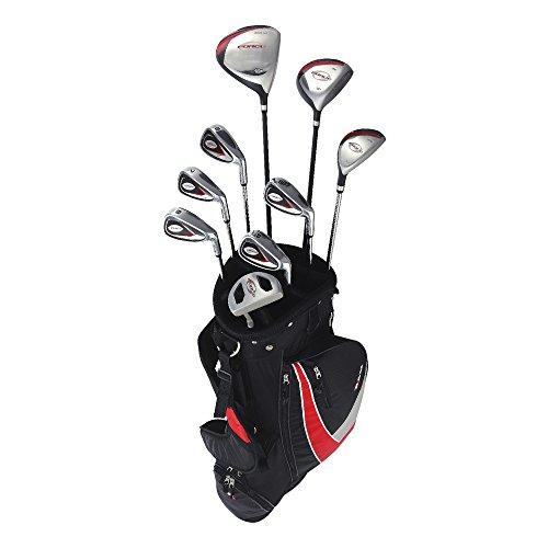 New RAM G-Kraft Herren Golf Komplett Set w/9Clubs + Cartbag Rechtshänder