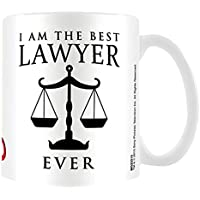 "Pyramid International ""Better Call Saul (I Am The Best Lawyer Ever)"" Official Boxed Ceramic Coffee/Tea Mug, Multi-Colour, 11 oz/315 ml"