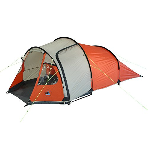 10T Mandiga 3 u2013 3-person tunnel tent ...  sc 1 st  UK Sports Outdoors C&ing Hiking Jogging Gym fitness wear Yoga & 10T Mandiga 3 - 3-person tunnel tent with vestibule 2 entrances ...