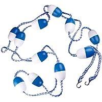 Conjunto de Flotadores de Cuerda de Piscina, Cuerda de 1 Metro con Bolas Flotantes de 11 Piezas