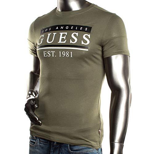 Guess T-Shirt M91I55vert, Grün - kaki - Größe: XX-Large