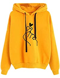 Khhalisi Women's Full Sleeves Sweat Shirt Hoodie