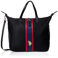 US Polo Womens Tall Shopping Bag, Black - BIUPW0633WIP000