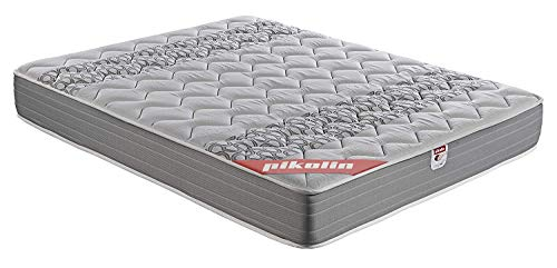 Pikolin Egeo - Colchón viscoelástico carbono de gama alta, máxima calidad y confort, firmeza media, altura 24 cm, 90 x 190 cm