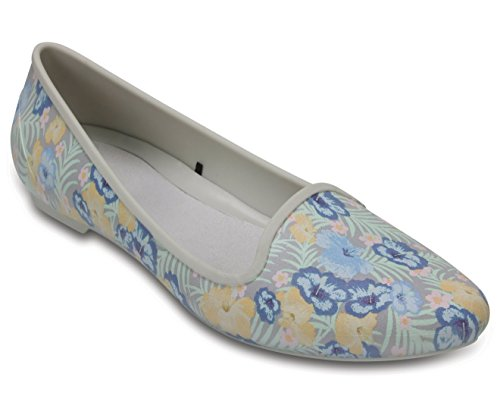 Crocs Eve Graphic Women Flat in Floral at amazon