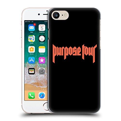 Head Case Designs Offizielle Justin Bieber Logo Tour Merchandise Ruckseite Hülle für iPhone 7 / iPhone 8