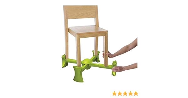 Kaboost Rehausseur de chaise compact et transportable Naturel