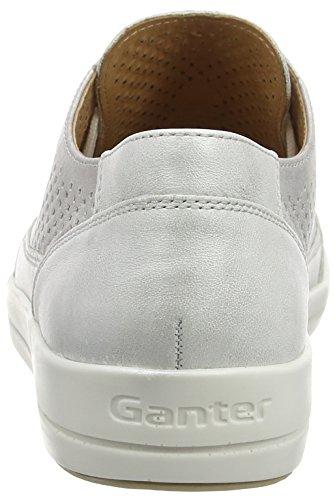 GanterGIULIETTA, Weite G - Scarpe stringate Donna Bianco (Weiß (perlweiß/champagn 0309))