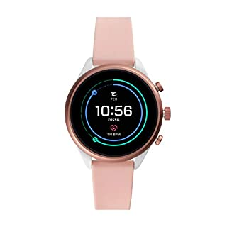Fossil Womens Sport Smartwatch with Silicone Strap FTW6022 (B07HCDYN9N) | Amazon price tracker / tracking, Amazon price history charts, Amazon price watches, Amazon price drop alerts