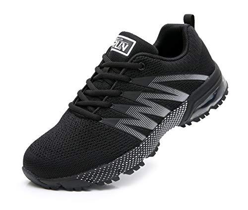 Azooken Unisex Uomo Donna Scarpe da Ginnastica Corsa Sportive Fitness Running Sneakers Basse...