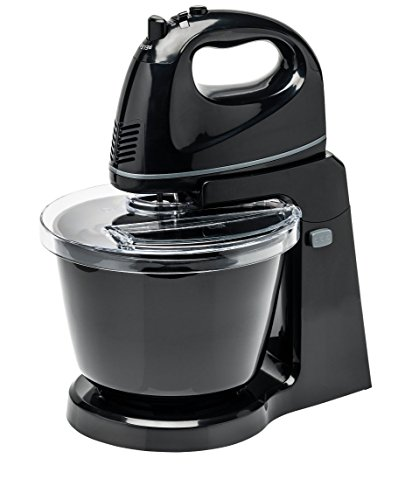 41lY%2BbddElL - BEST BUY #1 MEDION Stand Hand Mixer with bowl , 5 speed levels short operating time 10min, eject button bowl, rotating bowl splashguard with filling opening Reviews and price compare uk