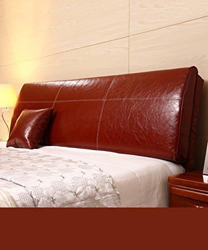 LIANGJUN PU Unterstützung Bedside Kissen Bett Kopf Kissen Kopfteil Kissen- Allgemein- Twin Size/Full Size/Queen Size/King Size (Farbe : 3*, größe : A-200 * 12 * 55cm)