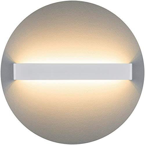 Liqoo Aplique Pared LED Interior Diseño Moderno Cómodo 20W Equivalente a 75W Blanco Cálido 3000k AC85-265V Decoración para Salon Pasillo Escalera Dormitorio Baño No Regulable Longitud 60cm