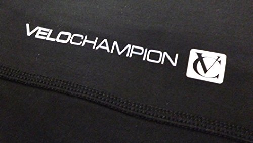 VeloChampion Thermo Tech Lite Rad-Beinstulpen, (Schwarz, Kleine) - 3
