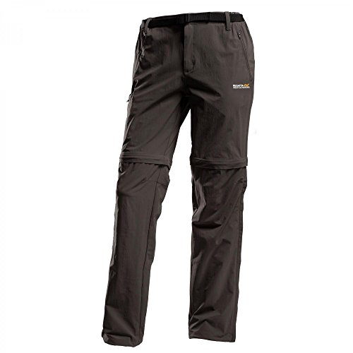 Regatta Xert Stretch Zip-Off Trousers II Short - roasted (Fashion Reißverschluss, Stiefel Seitlicher Stretch)