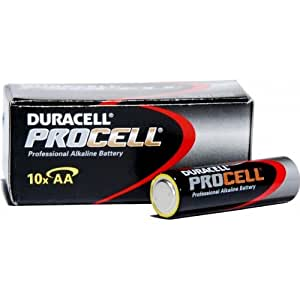 Duracell 1.5V AA Procell Battery (Pack of 10)