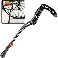 Fansport Bicycle Kickstand Soporte para Bicicleta con Suela Ajustable Soporte De Montaje Trasero para Bicicleta