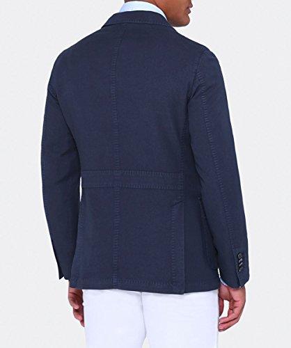 LBM 1911 Hommes quatre poche safari jacket Marine Marine