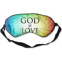 Sleep Eye Mask God is Love Lightweight Soft Blindfold Adjustable Head Strap Eyeshade Travel Eyepatch E2 preisvergleich bei billige-tabletten.eu