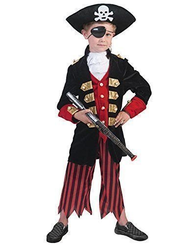 Pierro´s Kostüm Pirat Florian Kind Jungenkostüm Größe ()