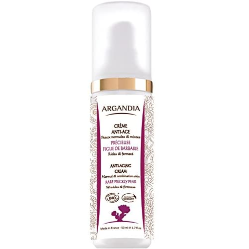 Argandia Opuntia Anti Aging Creme 50 Ml Bio Zertifiziert Intensive Feuchtigkeit Harmonischer Teint