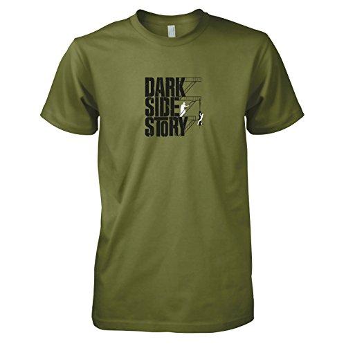 TEXLAB - Dark Side Story - Herren T-Shirt Oliv