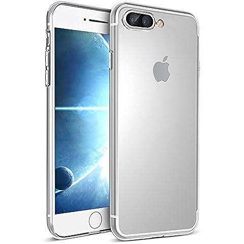 Funda iPhone 7 Plus, Ubegood iPhone 7 Plus Funda Carcasa Case Bumper [Shock-Absorción] [Anti-Arañazos] Slim Silicona Case Cover para iPhone 7 Plus