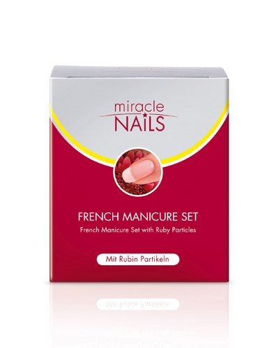 MIRACLE NAILS FRENCH M SET, 2X8 ml