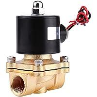 "DC 12V 1/2 ""BSPP NC Electroválvula Válvula Eléctrica Magnética de Aleación de Zinc para Combustibles de Aire Gas"
