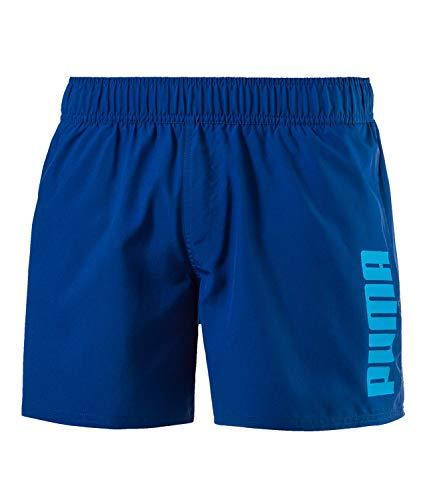 Puma Herren Badeshorts Badehose Style Beach Shorts 592306, Farbe:Blau, Wäschegröße:XL, Artikel:-10 True Blue
