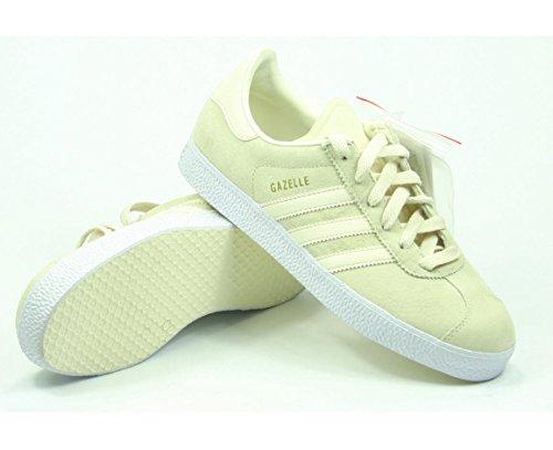 2 Weiß Beige Gazelle Adidas 915556 Sneaker Fq5RzxwA