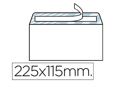 Box von 500Briefumschläge Offset weiß Rolle 115x 22580gr/m² S 907551AV