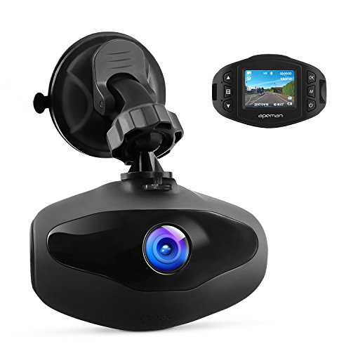 APEMAN Mini Car Camera Dash Cam 1080P Full HD Video Recorder with Sony Sensor, 650NM Lens, WDR, Loop Recording, Motion Detection, Park Monitor and G-Sensor
