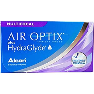 Air Optix plus HydraGlyde Multifocal Monatslinsen weich, 3 Stück/BC 8.6 mm/DIA 14.2 mm
